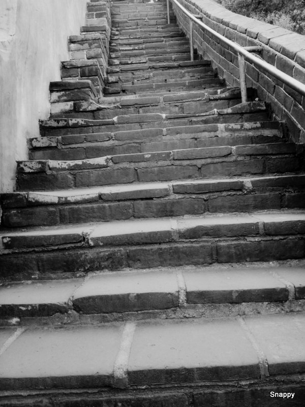 long and winding steps