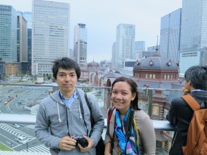 with our guide, Matsuda