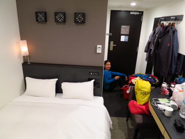 our very small room..our only free space is by the door (photo by JayceeVincent)