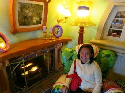 inside Minnie's house