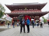 at Asakusa Sensoji Temple