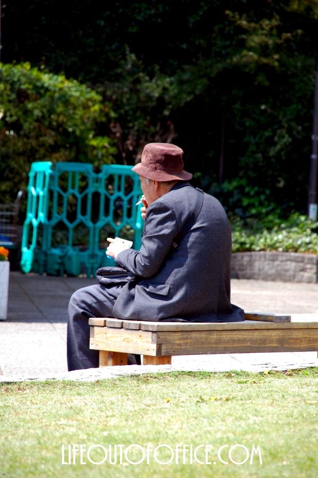 [Ueno Park] ripe age