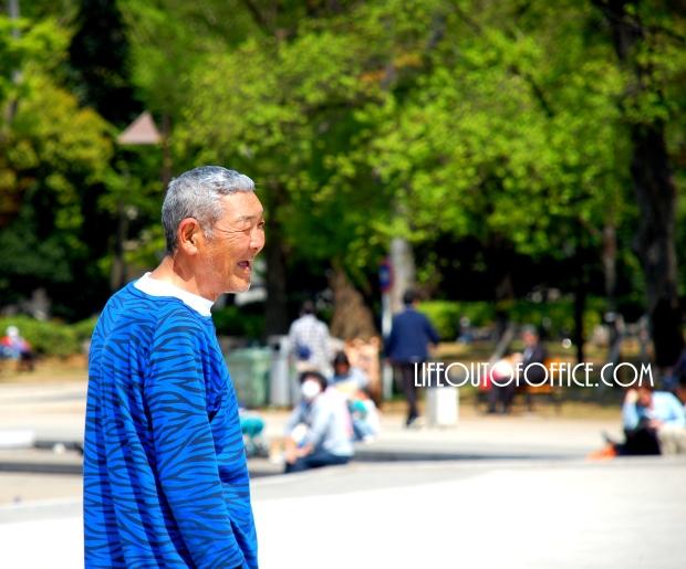 [Ueno Park] Laugh