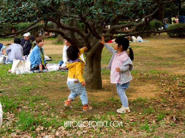 [Yoyogi Park] playing is better together