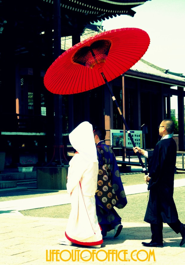 [Kyoto Temple] a good day to get married