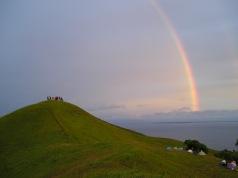 view at Mt. Gulugod at 5AM!