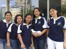 volunteering with office mates :)
